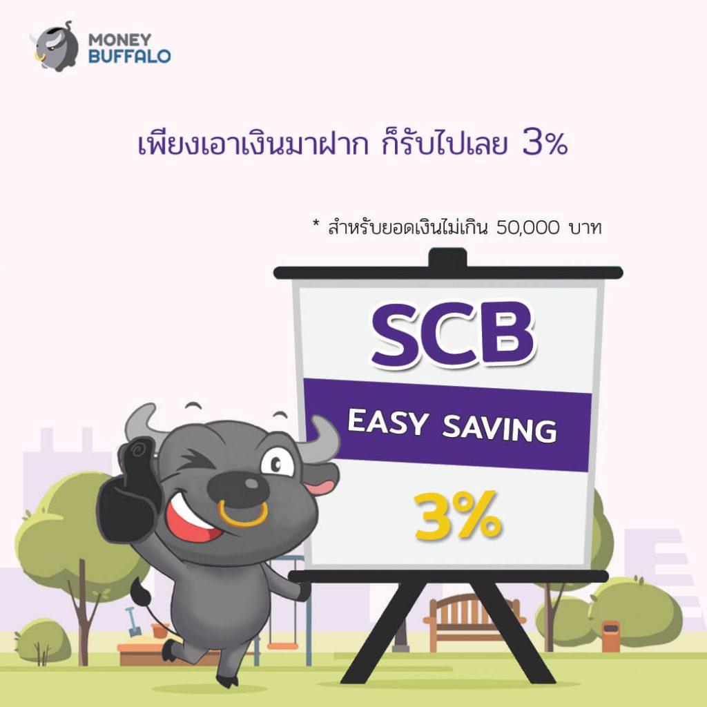 SCB Easy Saving บัญชีเงินฝากอีซี่