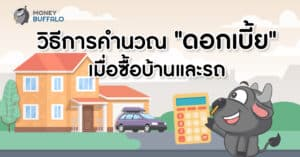 วิธีคำนวณดอกเบี้ยซื้อบ้านและรถ