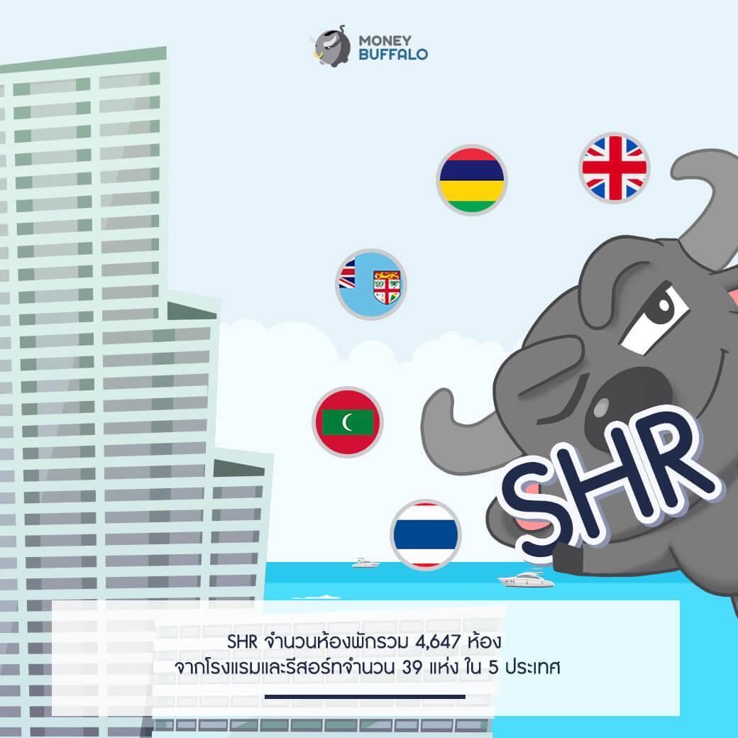 SHR ผู้นำด้านธุรกิจโรงแรมและรีสอร์ท จากสิงห์ เอสเตท