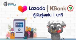 Lazada x Kbank กู้เงินรู้ผลใน 1 นาที