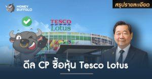 """สรุปรายละเอียด ดีล """"CP"""" ซื้อหุ้น Tesco Lotus"""