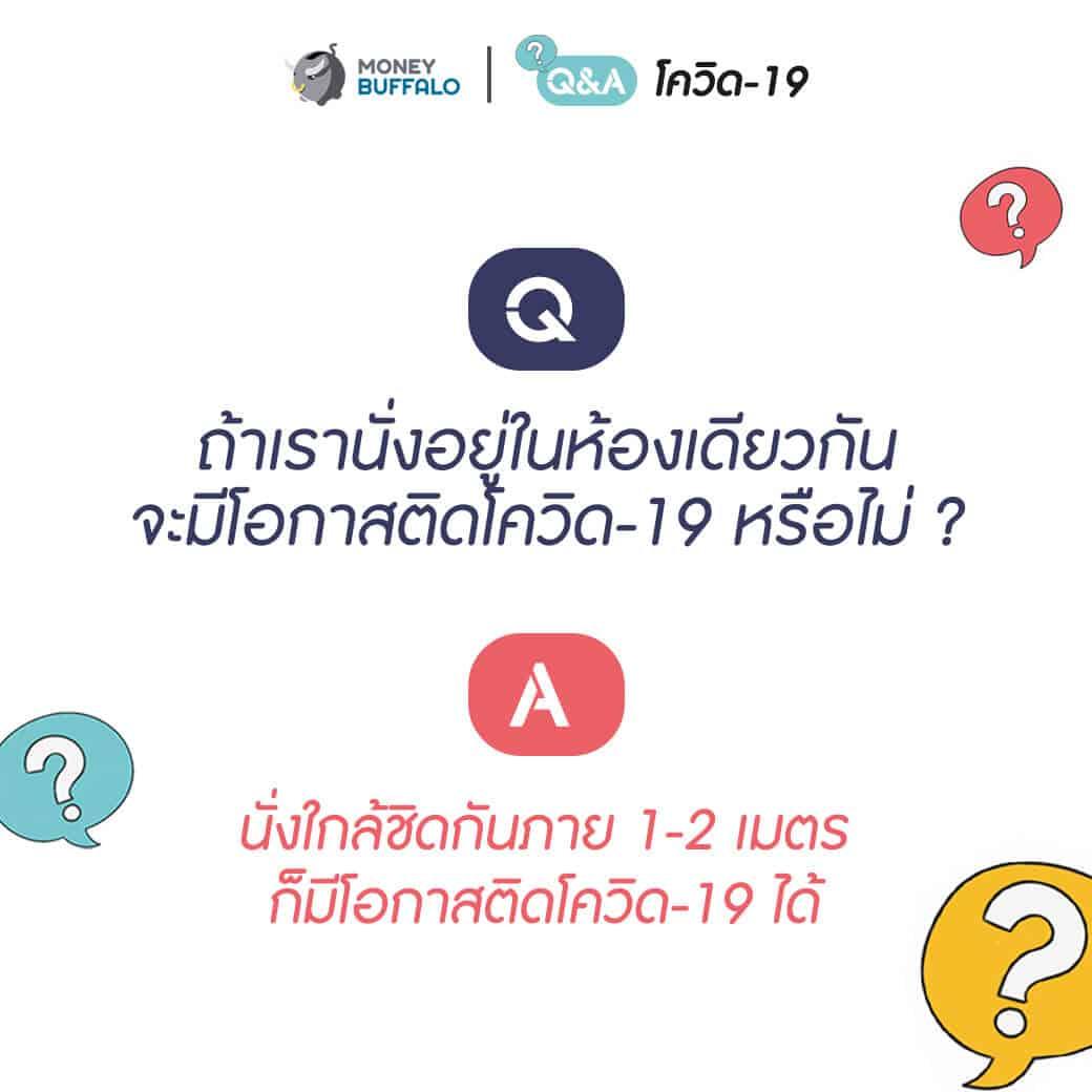 """Q&A สำหรับคนที่วิตกกังวล """"โควิด-19"""""""
