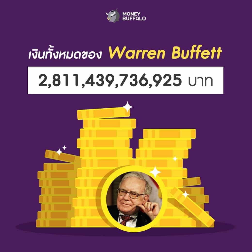 """เงิน 2.8 ล้านล้านบาท ของ """"Warren Buffett"""" ซื้ออะไรได้บ้าง ?"""