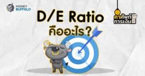 """D/E Ratio"" คืออะไร ?"