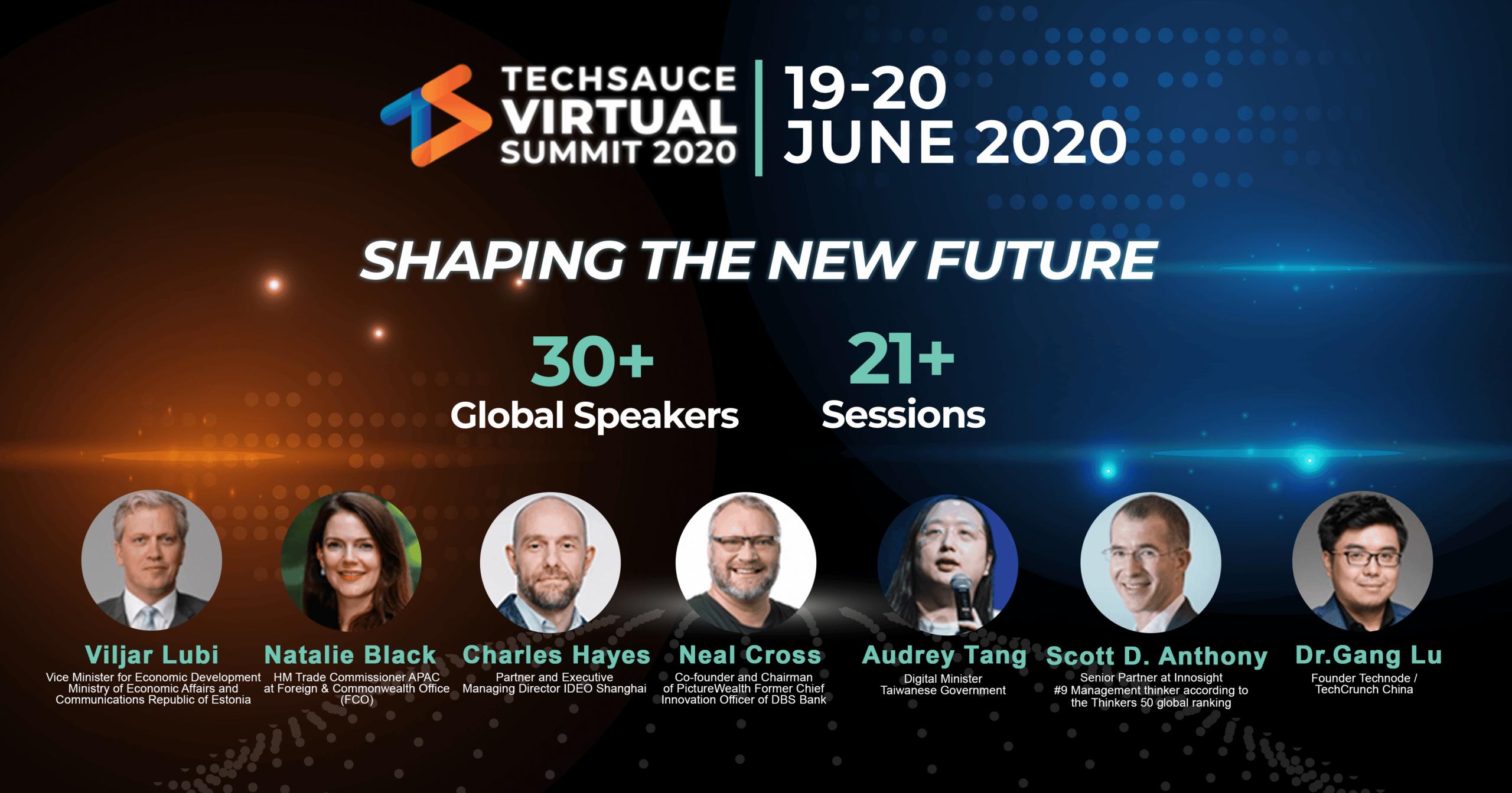 """ธุรกิจจะเป็นอย่างไรหลังจบโควิด-19 หาคำตอบได้ที่งาน """"Techsauce Virtual Summit 2020"""""""