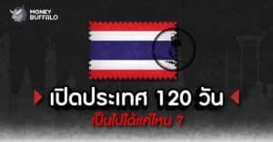 """""""เปิดประเทศ 120 วัน"""" เป็นไปได้แค่ไหน ?"""